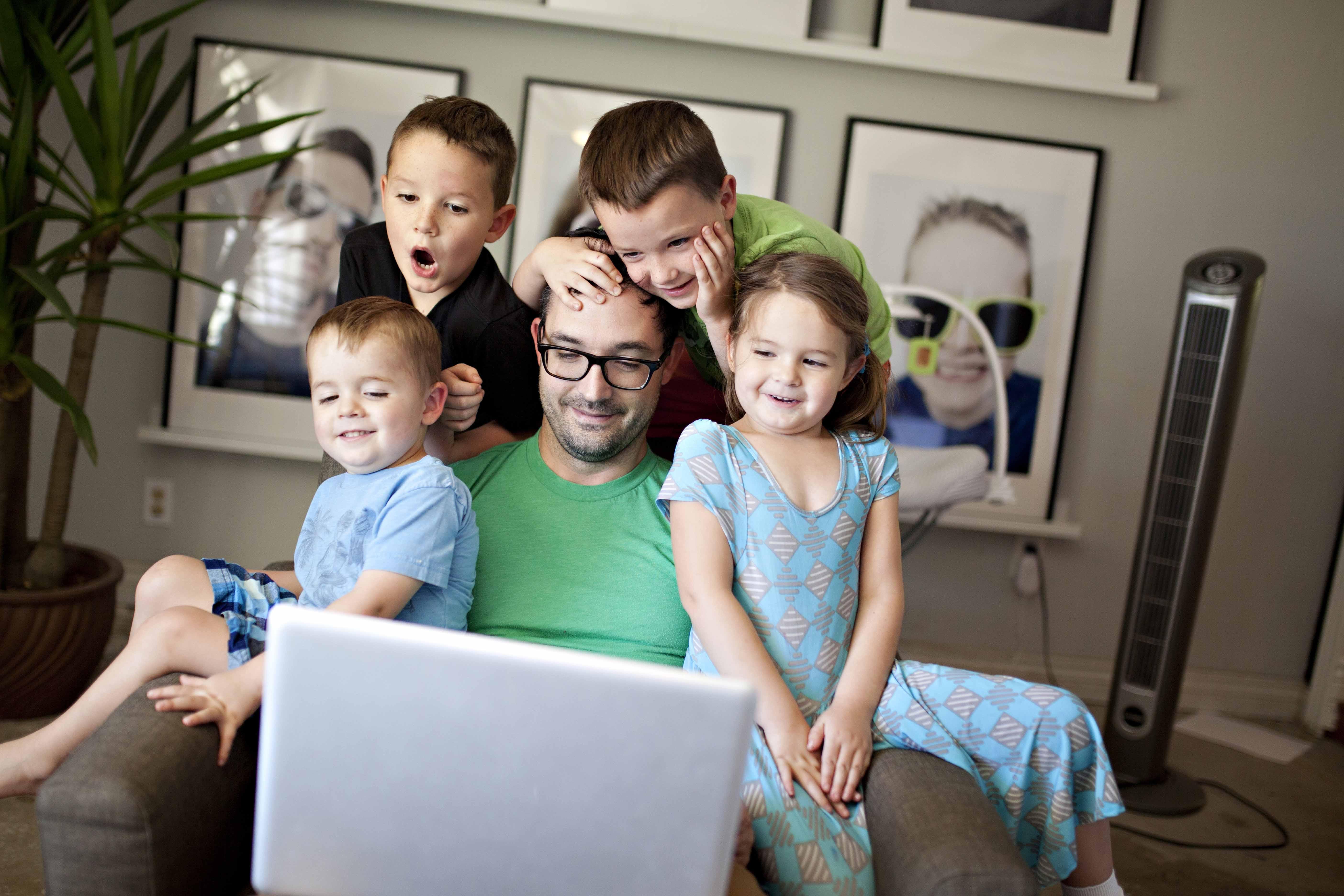 Navegando por Internet en familia