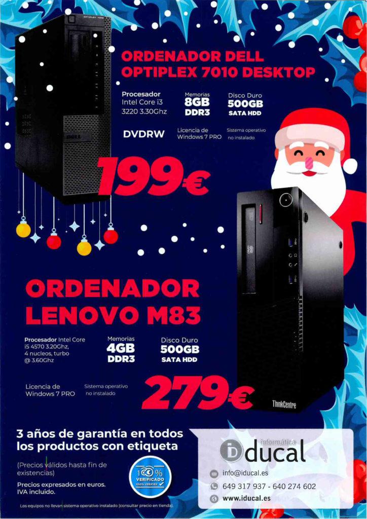 Ofertas Technoocasión mes de Diciembre 1